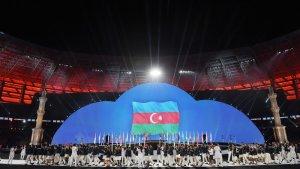 Azərbaycan millisi idmançıların paradında – VİDEO