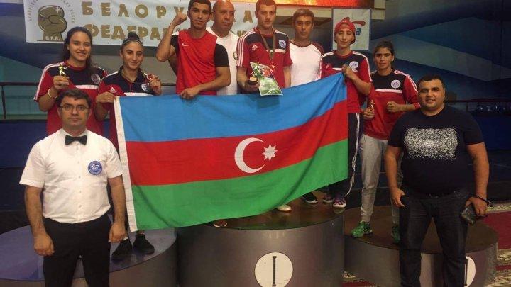 Boksçularımız Minskdə 5 medal qazanıblar