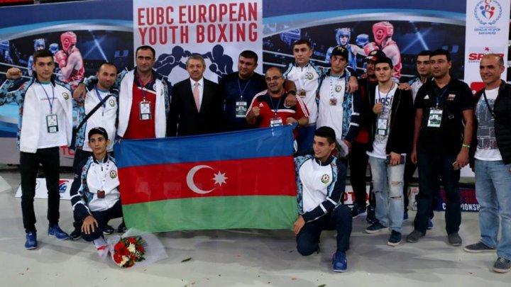 Gənc boksçulardan ibarət millimiz Avropanın dördüncüsüdür!