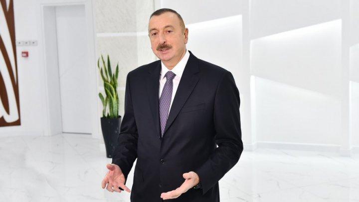 """Azərbaycan Prezidenti: """"Onlar artıq üçüncü dəfə təsdiqlədilər ki, dünyada birincidirlər"""""""