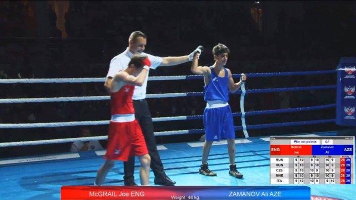 İki boksçumuz Avropa çempionu olub, biri 3-cü yeri tutub