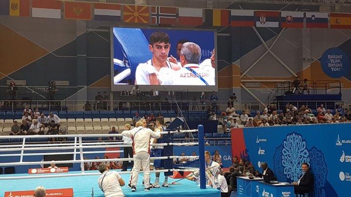Minsk-2019: Rüfət Hüseynov italiyalı boksçu ilə döyüşüb
